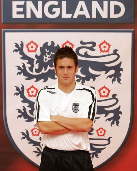 He scored a total of ten goals while wearing the England shirt