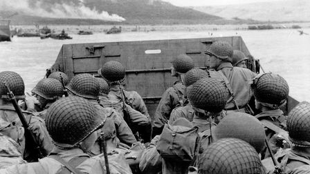 Normandy on June 6, 1944 as Allied soldiers prepare to land on the beach (Picture: MGPhoto76 / Alamy