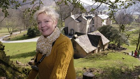 Elaine Taylor at Allen Bank which Wordsworth described as an abomination