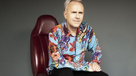 Howard Jones is about to release a new album, Transform