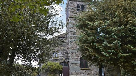 The Old Tower is part of an Ambleside church