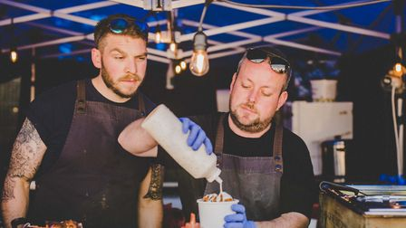 An outstanding range of different and flavoursome food will be on offer