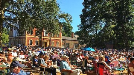 Crowds have helped to raise thousands for the hall restoration