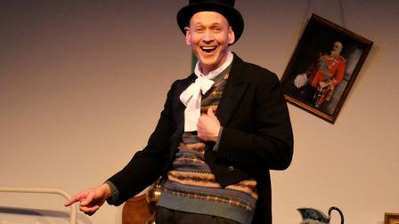 Steve Royle who will be performing as music hall legend Dan leno