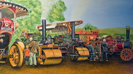 Glynns pictures have been much in demand among steam engine enthusiasts