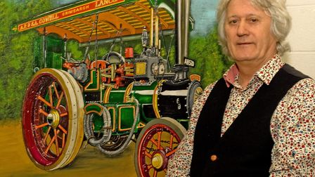 Glynns love of painting was rekindled when he moved to Lancashire