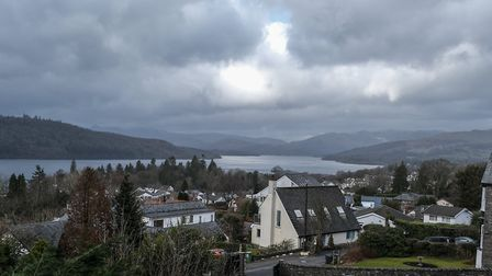 Stunning panoramic views of Windermere from the house
