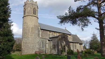 In the round: The ancient Norman tower of St Nicholas Potter Heigham was given an octagonal extensio