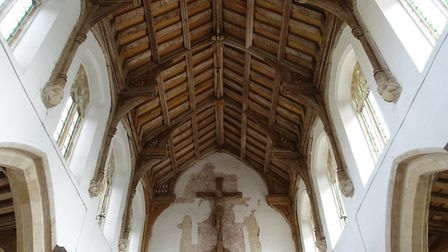 Power and the glory: The magnificent roof and chancel arch at St Nicholas, Potter Heigham (photo: Ma