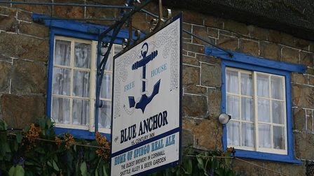 The Blue Anchor, Helston. Photo credit: Philip Morria, Flickr, (CC BY-NC-ND 2.0)