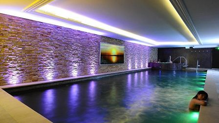 The pool at the Harbour Hotel Spa