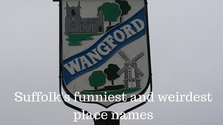 Wangford Village Sign (c) Adrian Cable, Geograph (CC BY 2.0)