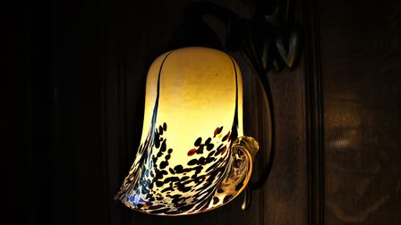 One of the delicate light fittings