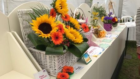 Floral Art at the Chorley Flower Show