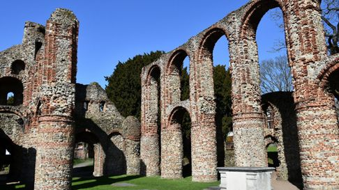 St Botolph's Priory in Colchester is free to visit
