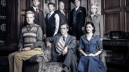 The cast of The Mousetrap at Blackpool Grand. Picture: Johann Persson