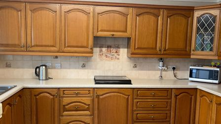 Before: You may not need to replace your entire kitchen. Valerie Wray Interiors can refresh and reju