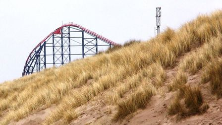 The wildife-rich sand dunes are close to Blackpool's attractions