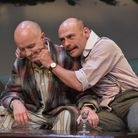 Dominic Gately (Marcus) and Chris Porter (Charles Ash). Photo by Robert Day.