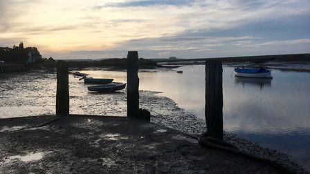 The Norfolk Coast Path at Burnham Overy Staithe (picture: Rowan Mantell)