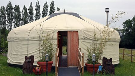 The Yurt at Parbold Equestrian Centre