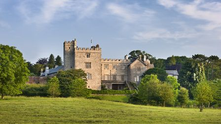 The east front, seen from the drive, of Sizergh Castle (c) National Trust Images/Andrew Butler