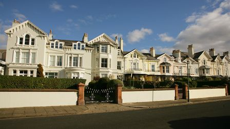 Distinctive properties at Beach Lawn, opposite the Marina....
