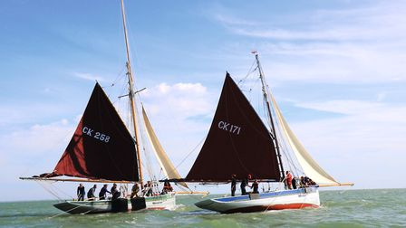 Colne Smack Race and the West Mersea Dredging Match