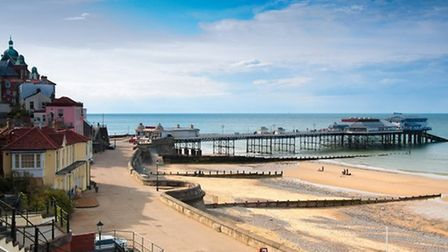 Cromer is known for its Grade II listed pier and its famous crab