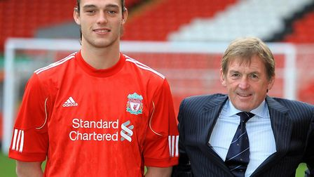 January 31, 2011, saw Liverpool unveil Andy Carroll as a replacement for Fernando Torres. Picture: P
