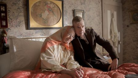 Timothy Spall as LS Lowry and Vanessa Redgrave as his mother in Mrs Lowry & Son, which is released on August 30