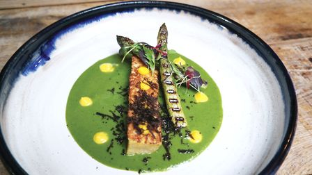 Cartford Inn's Watercress Soup and Eggy Bread Soldiers