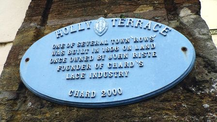 Holly Terrace was built for mill workers