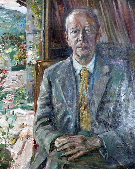 The portrait of Harry by Kurt Schwitters