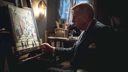 Timothy Spall as LS Lowry in Mrs Lowry & Son, which is released on August 30
