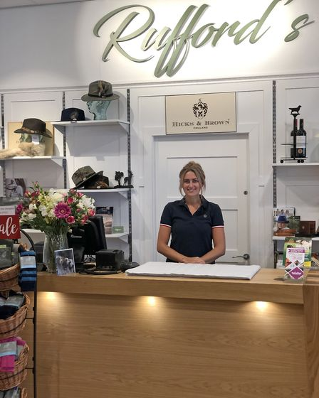 Becky Clarke of Ruffords Country Store
