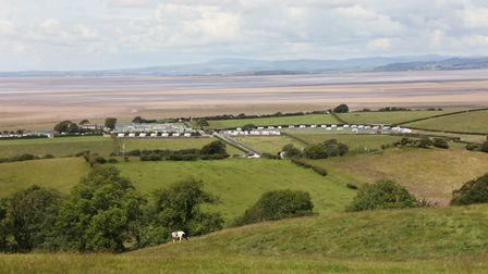 Morecambe Bay from Bolton-le-Sands by John Cocks