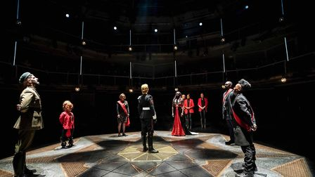 Macbeth at Manchester Royal Exchange. Picture: Johan Persson