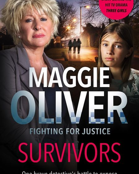 The cover of Maggie Oliver's book