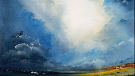 'Gathering Storm over Tockholes' by Ian Morris of Darwen