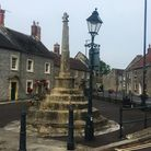 The market cross in Evercreech is a Grade II listed building and has been scheduled as an ancient mo