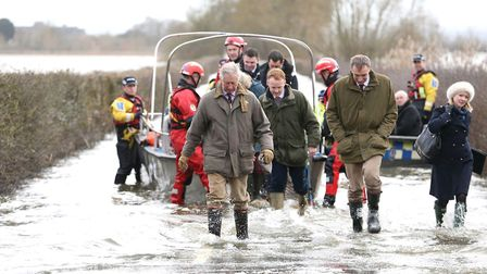 Prince Charles has visited on many occasions when Somerset has suffered with flooding