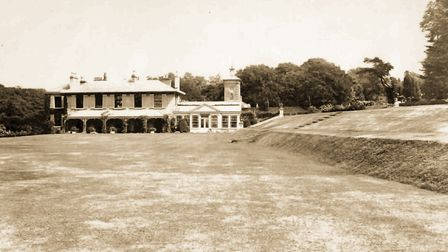 Pictured of the Orangery in Holywells park that is currently undergoing renovation. To go with Jam