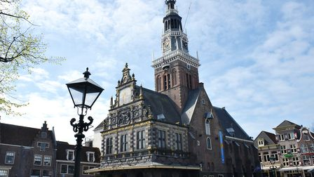 The Cheese Museum in Alkmaars Waag Building (Weigh House), which dates to 1582 (Henk Monster).