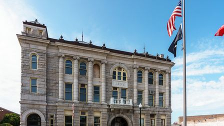 Taunton, Massachusetts: The City Hall. The town is twinned with our very own Taunton (c) Kenneth C Z