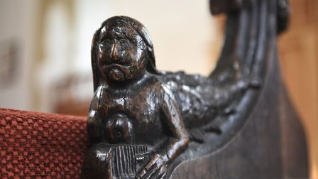 The Legend of the Mermaid at All Saints Church, Upper Sheringham.Picture: ANTONY KELLY