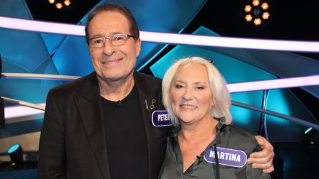 PETER and MARTINA at Pointless Recording