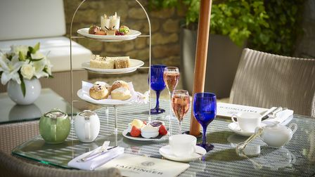 Take afternoon tea at The Royal Crescent Hotel & Spa