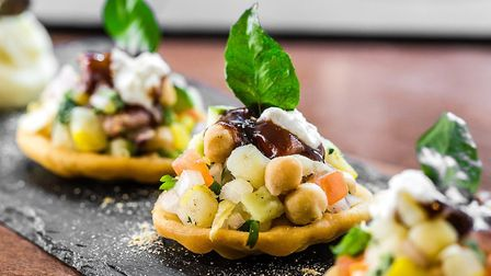 The Mint Room serves Indian food with a modern twist