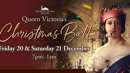 Rochdale Town Hall presents Victoria's Christmas Ball